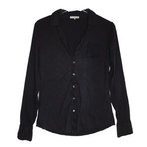 James Perse 100% Cotton Long Sleeve Button Down